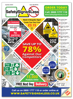 SafetySigns4Less Catalogue Summer 2019