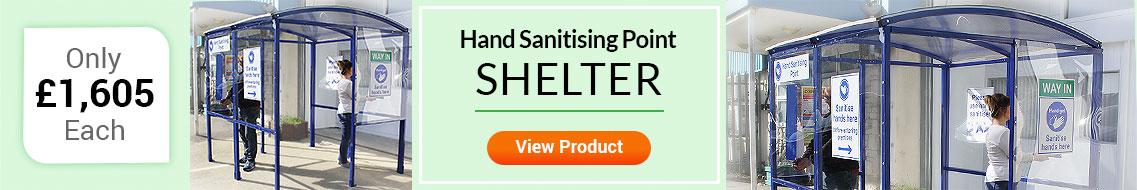 Hand Sanitarising Shelter