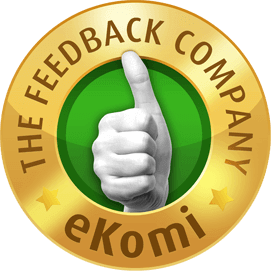 Rated 4.8/5 By Customers on eKomi