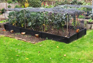 bespoke heavy duty raised beds