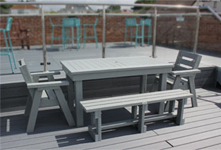 picnic table for Yacht Club