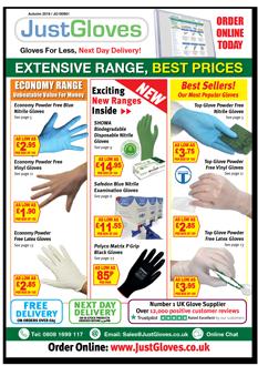 Just Gloves Catalogue Autumn 2019