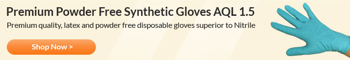 Premium Powder Free Synthetic Gloves